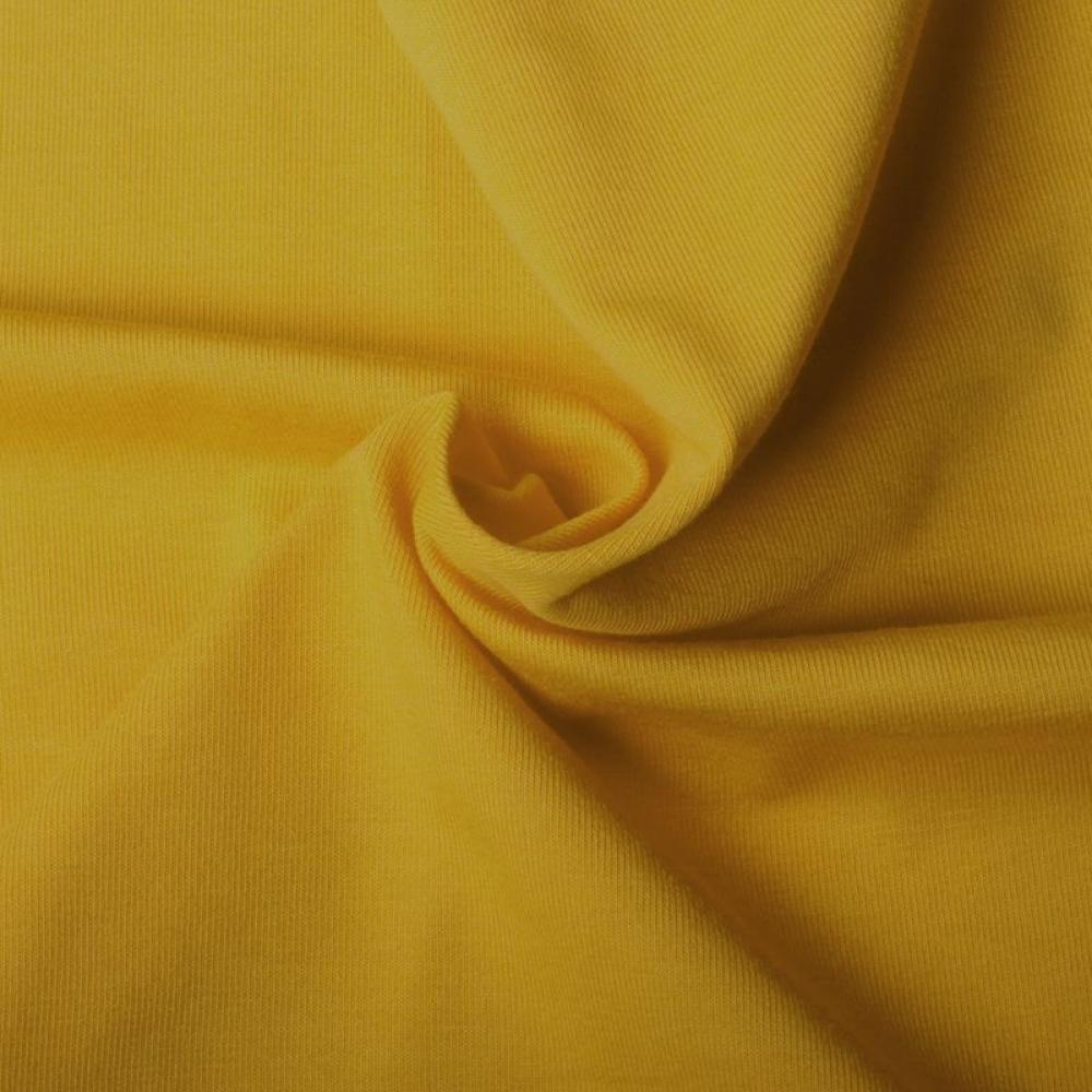 d6e23173148 Cotton Jersey - Mustard Yellow | The fabric baron