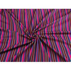 Mexican Striped Fabric -
