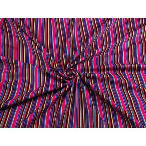 Mexican Striped Fabric - (4)