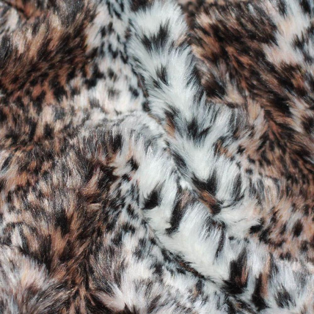 Get Ations Faux Fake Fur Leopard Snow Pink 58 Inch Wide Fabric By The Yard F E Â