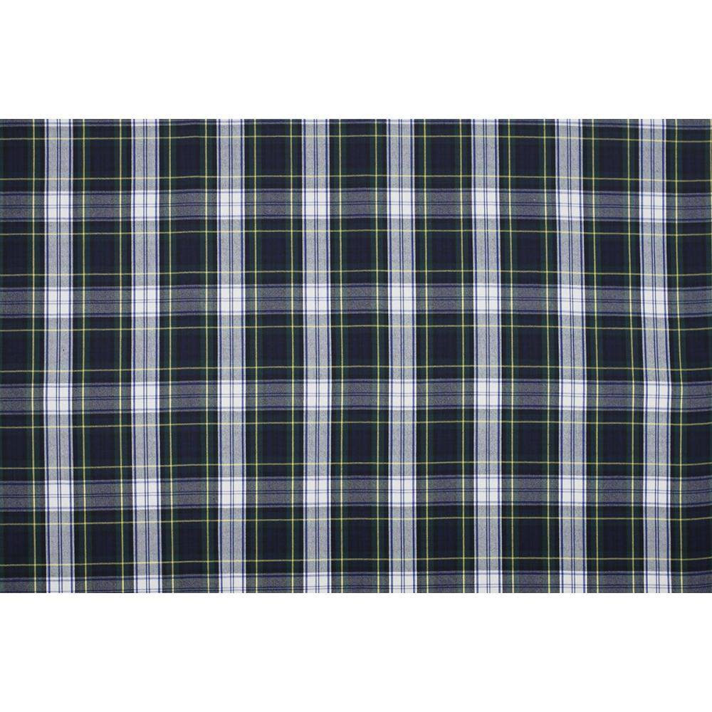 ecbc8eab20e20 Scottish Tartan - Green White Yellow