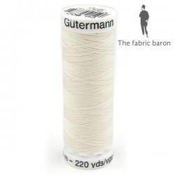 Gutermann Sew-all Thread 200m - Light Beige (802)